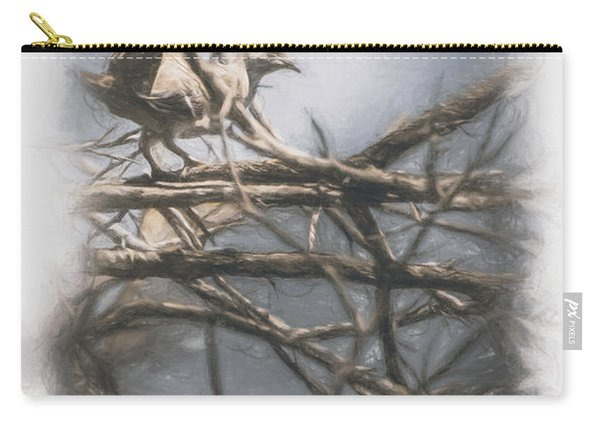 Bird From Woodslost Way Carry-all Pouch