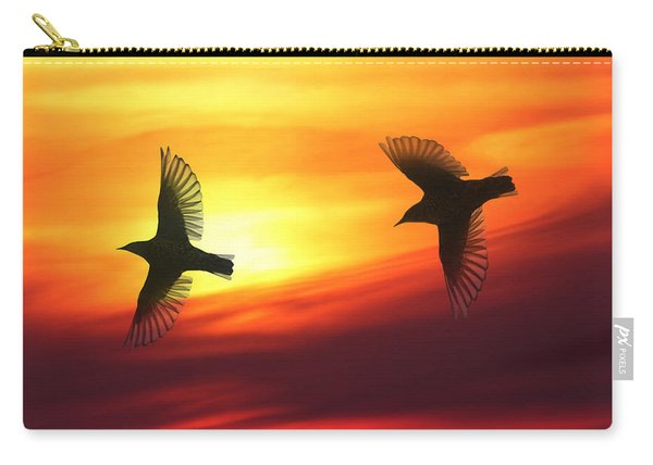 Bird Lovers Carry-all Pouch