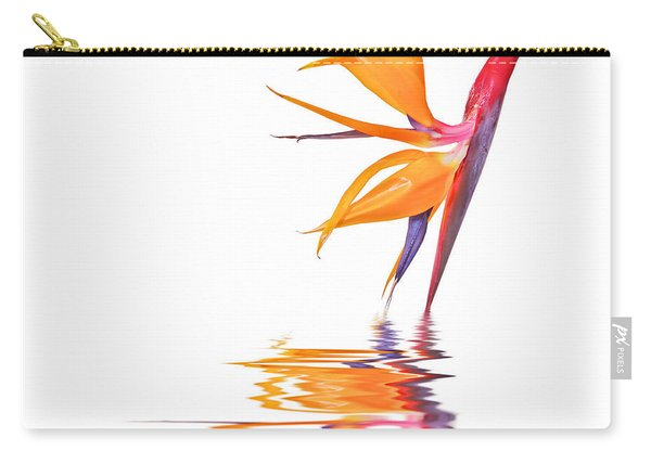 Bird Of Paradise Reflections Carry-all Pouch