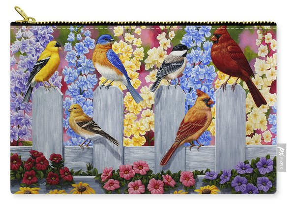 Bird Painting - Spring Garden Party Carry-all Pouch