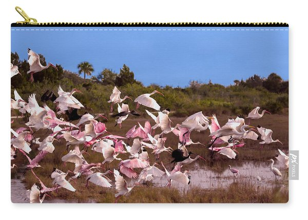 Birds Call To Flight Carry-all Pouch