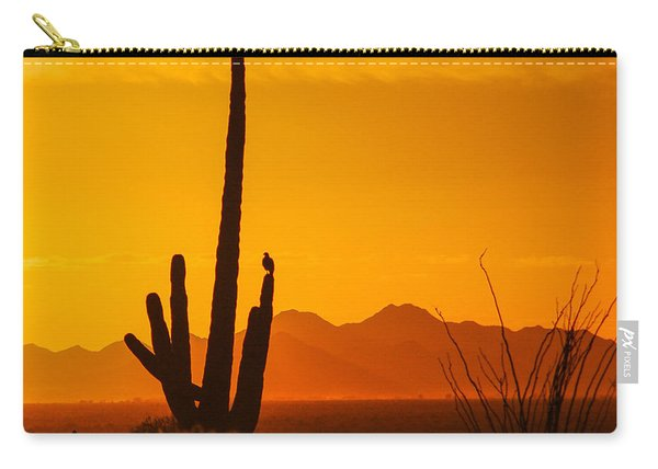 Birds In Silhouette Carry-all Pouch