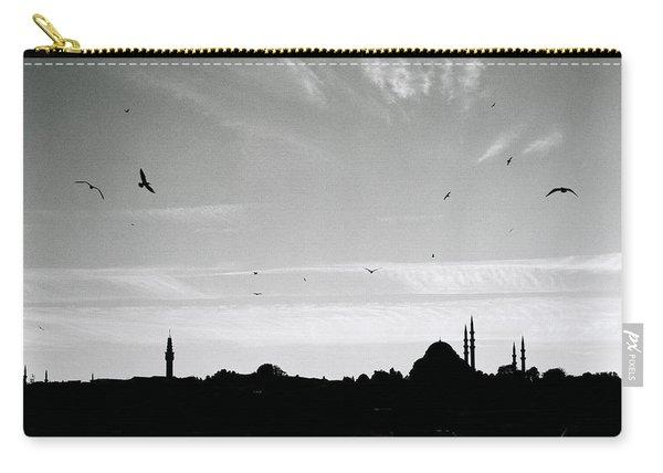 Birds Over The Golden Horn Carry-all Pouch