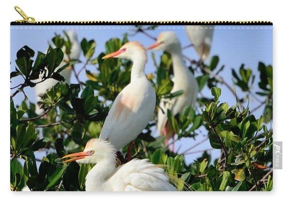 Birds Quartet Carry-all Pouch