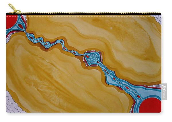Birth Of A New Sun Original Painting Carry-all Pouch