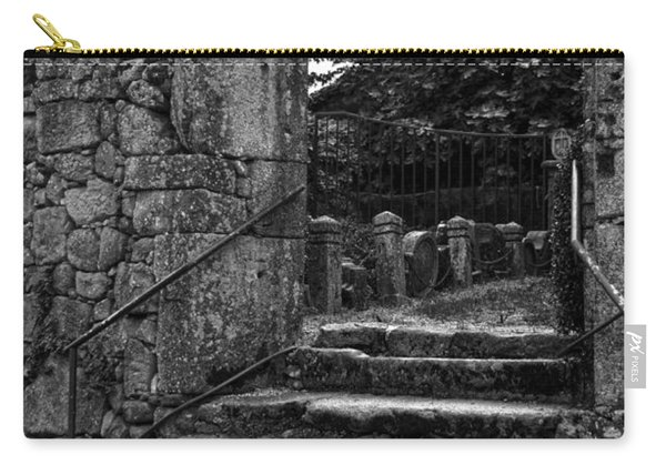 Bishop's Palace Gardens Bw Carry-all Pouch