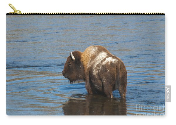 Bison Crossing River Carry-all Pouch