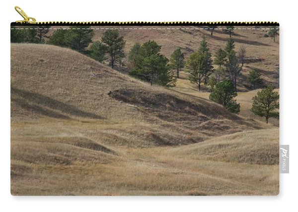 Bison Grazing Custer State Park South Carry-all Pouch