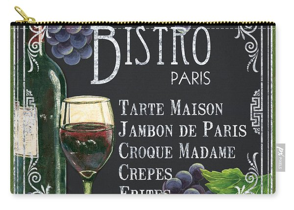 Bistro Paris Carry-all Pouch