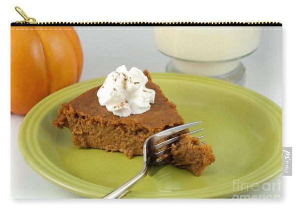 Bite Of Pumpkin Pie Carry-all Pouch