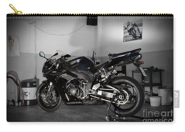 Black 2007 Honda Cbr1000rr Carry-all Pouch