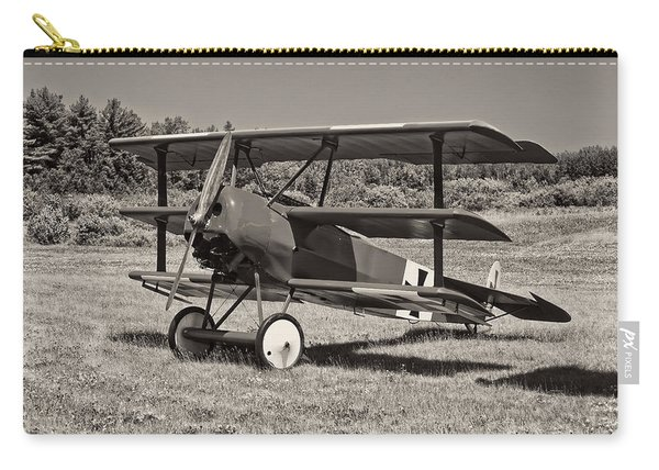 Black And White 1917 Fokker Dr.1 Triplane Red Barron Carry-all Pouch