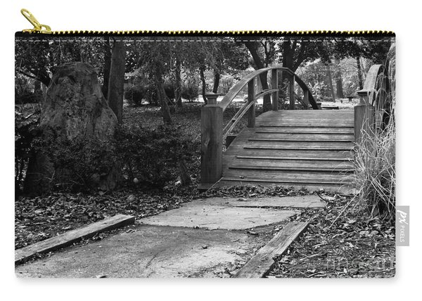 Black And White Bridge Carry-all Pouch