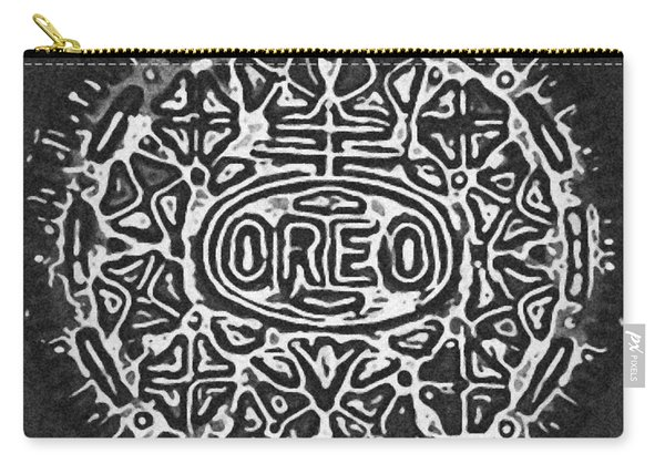 Black And White Oreo Carry-all Pouch
