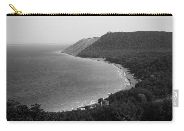 Black And White Sleeping Bear Dunes Carry-all Pouch