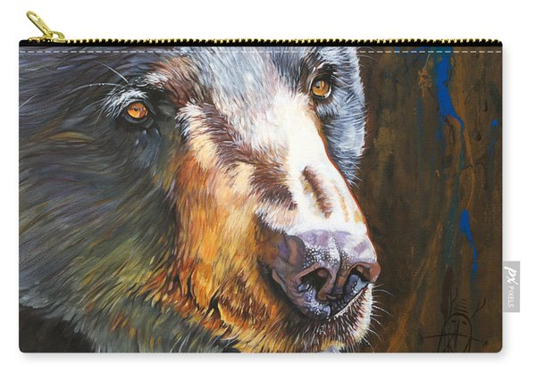 Black Bear The Messenger Carry-all Pouch