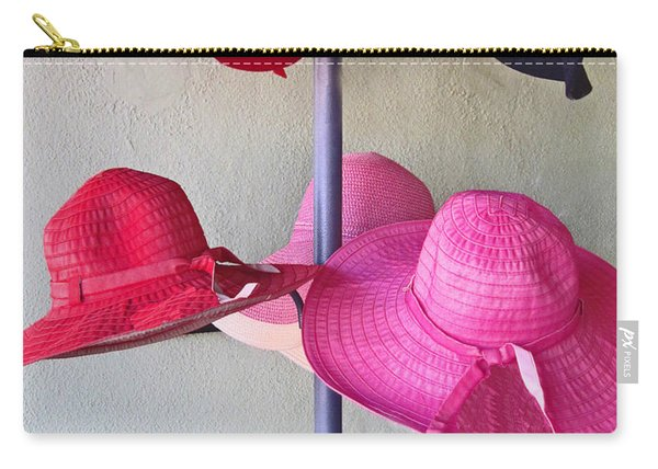 Black Chapeau Of The Family Carry-all Pouch