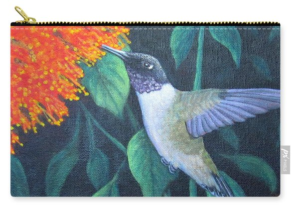 Black-chinned Hummingbird Carry-all Pouch