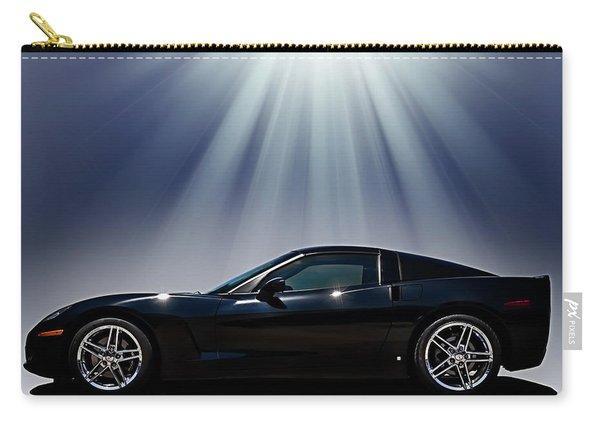 Black Corvette Carry-all Pouch