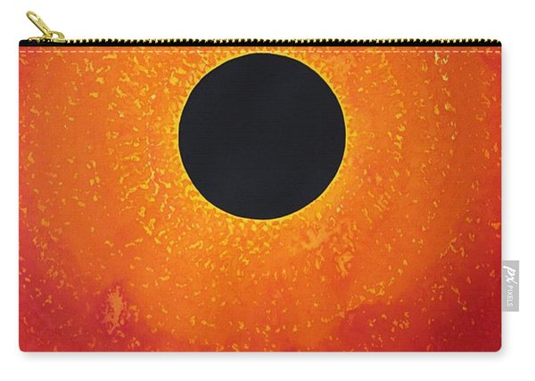 Black Hole Sun Original Painting Carry-all Pouch