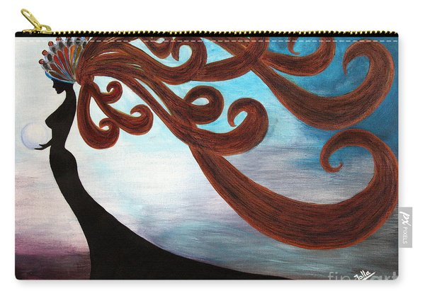 Black Magic Woman Carry-all Pouch