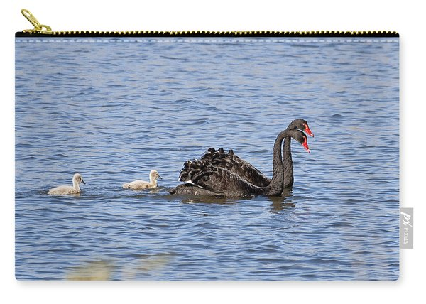 Black Swans Carry-all Pouch