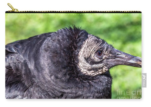 Black Vulture Waiting For Prey Carry-all Pouch