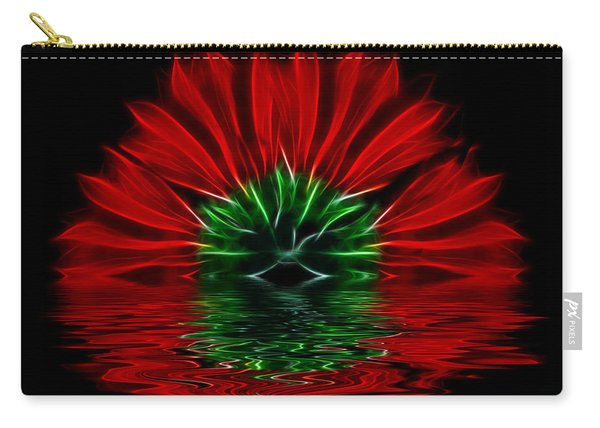 Bleeding Red Carry-all Pouch