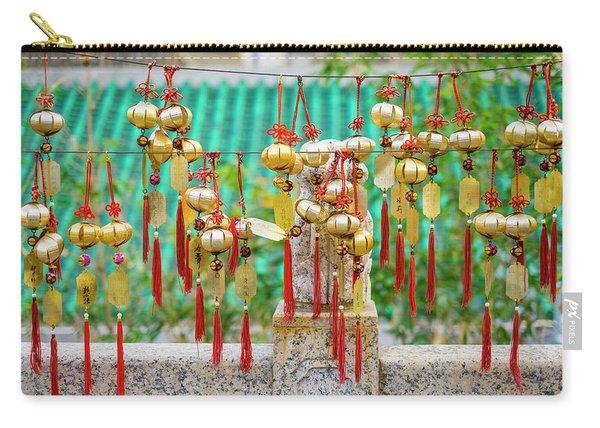 Blessing Wind Bells, Prayer Bells Carry-all Pouch