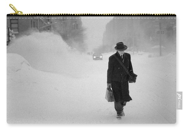 Blizzard On Park Avenue Carry-all Pouch
