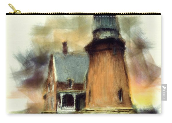 Block Island Light Carry-all Pouch