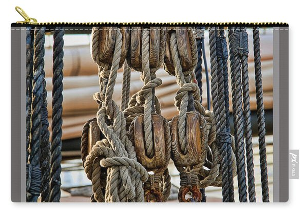 Blocks And Ropes Carry-all Pouch