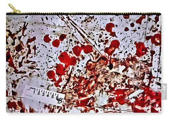 Blood Spatter Carry-all Pouch