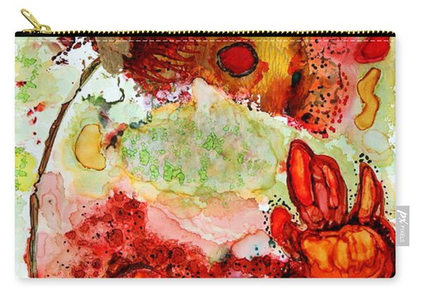 Blooming Impressions.. Carry-all Pouch