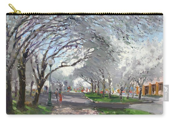 Blooming In Niagara Park Carry-all Pouch