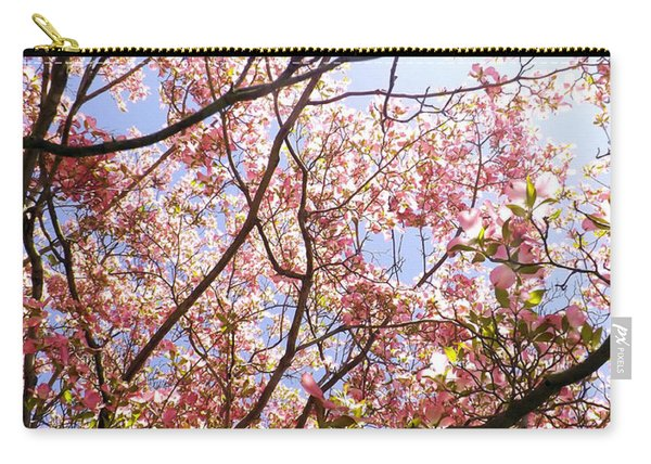 Blossoming Pink Carry-all Pouch