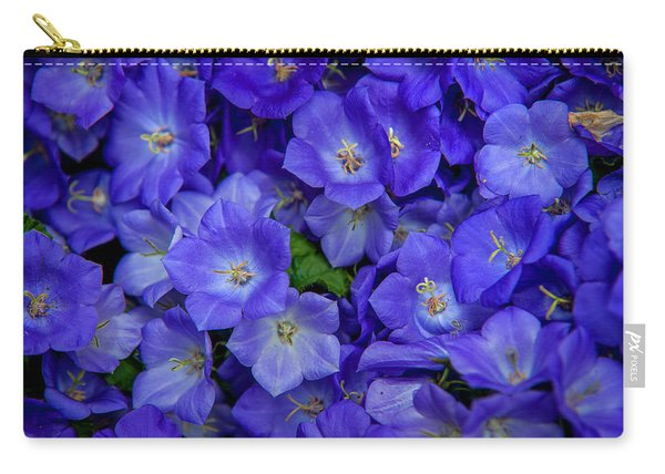 Blue Bells Carpet. Amsterdam Floral Market Carry-all Pouch