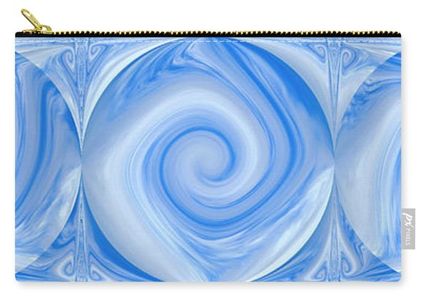 Blue Design Carry-all Pouch