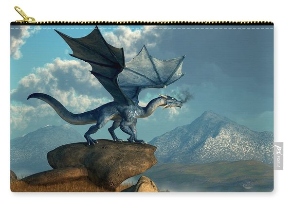 Blue Dragon Carry-all Pouch