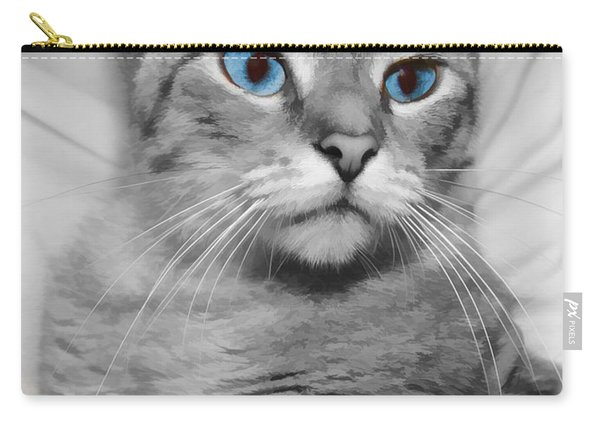Blue Eyed Girl Carry-all Pouch