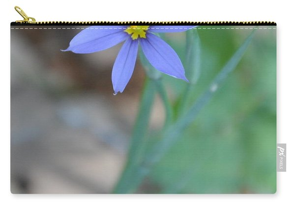 Blue Flower Carry-all Pouch