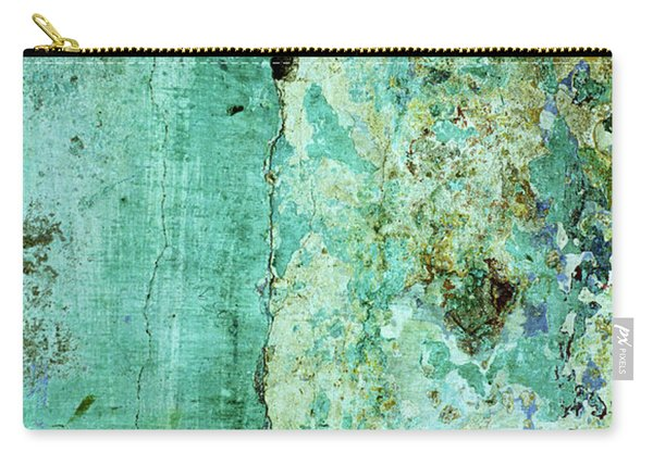 Blue Green Wall Carry-all Pouch