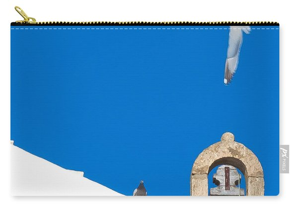 Blue Gull Carry-all Pouch