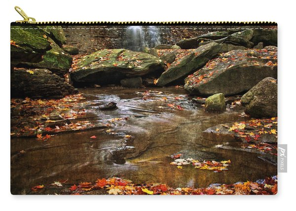 Blue Hen Falls In Autumn Carry-all Pouch