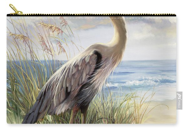 Blue Heron Deux Carry-all Pouch