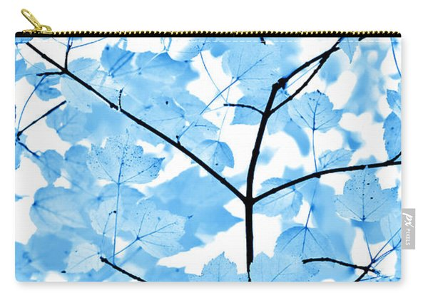 Blue Leaves Melody Carry-all Pouch
