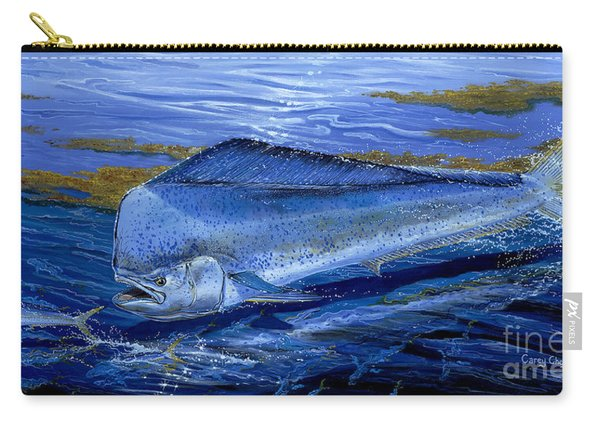 Blue Mahi Off0071 Carry-all Pouch
