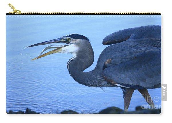 Blue Heron Gulp Carry-all Pouch
