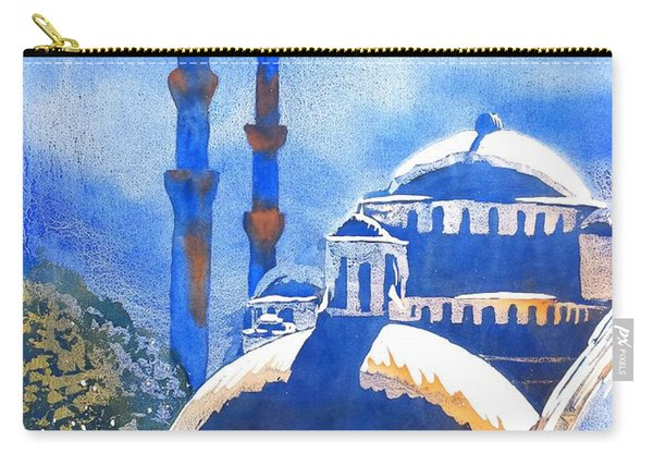 Blue Mosque In Blues Carry-all Pouch