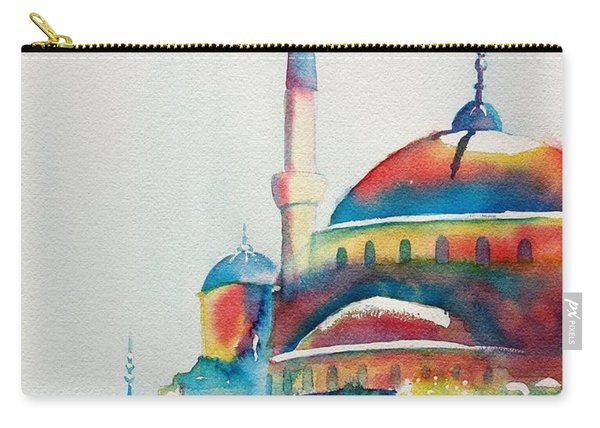 Blue Mosque Sun Kissed Domes Carry-all Pouch
